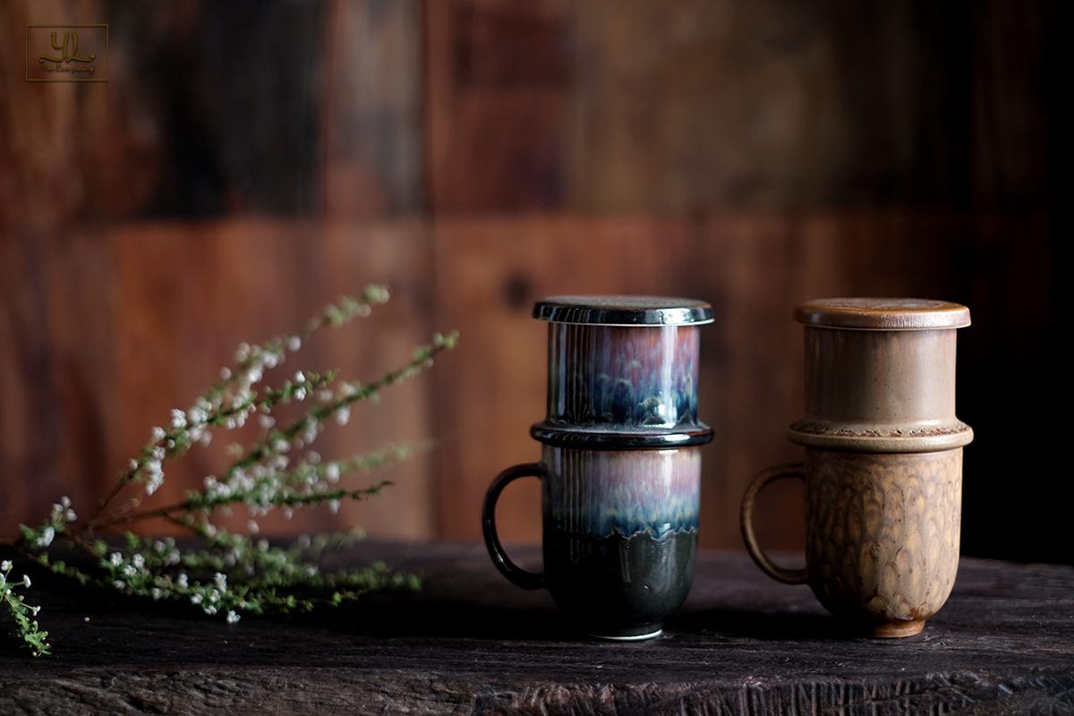 Phin cà phê gốm